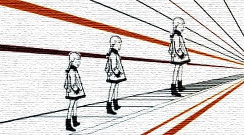 иллюзия понзо