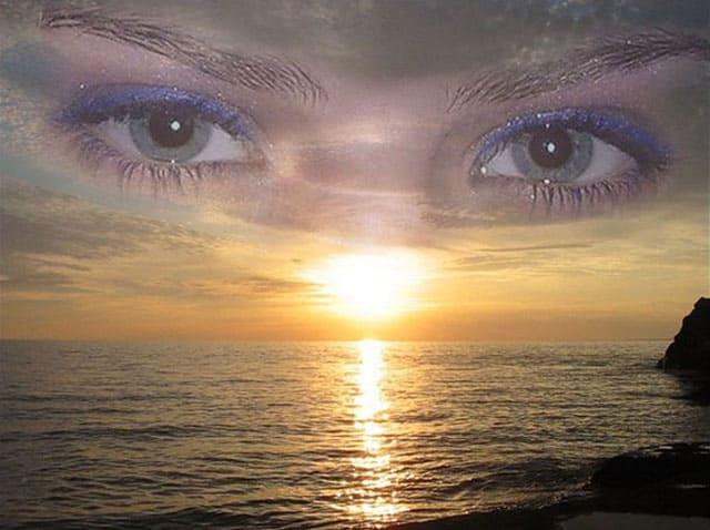 Глаз со слезами фото