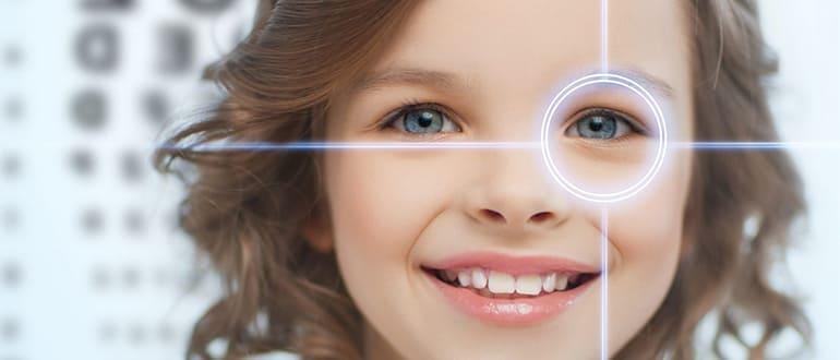 Линзы для детей — с какого возраста можно носить линзы?
